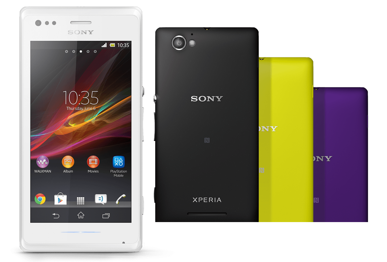Sony Xperia M White Images & Pictures - Becuo